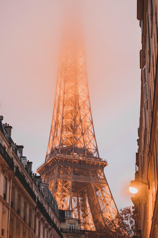 Eiffel Tower, Paris in golden hour