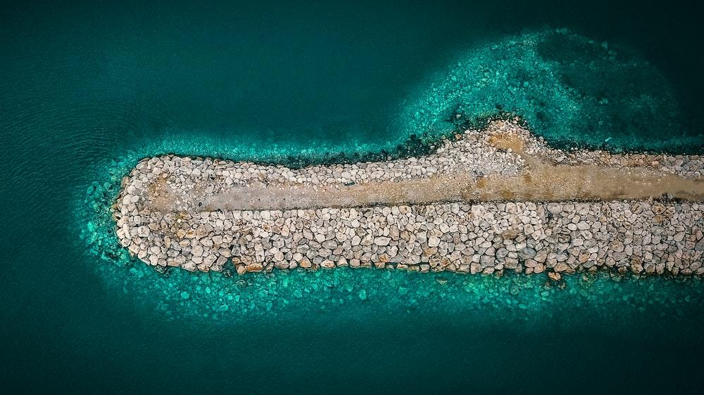 beach island view