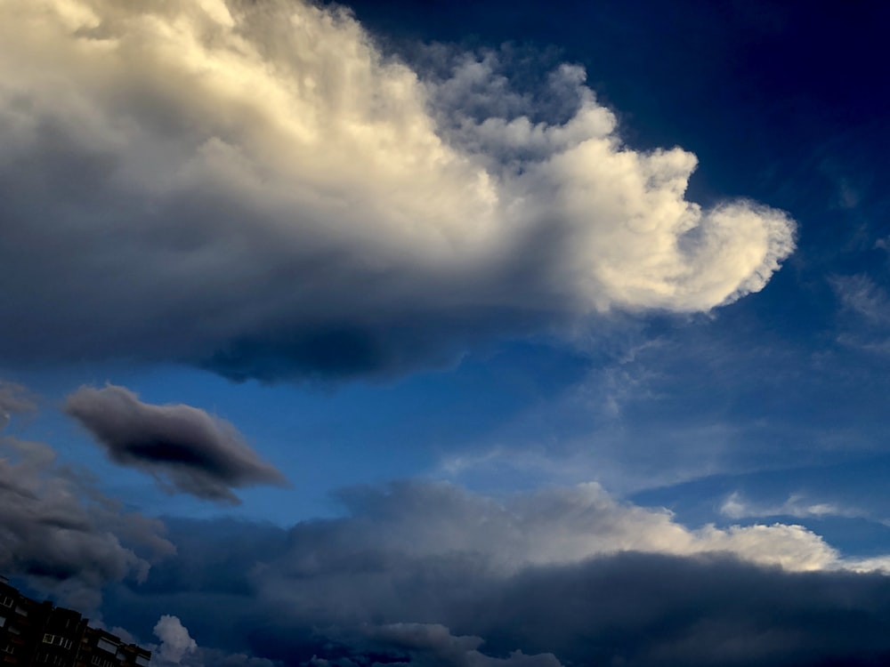 blue sky and white clouds during daytime