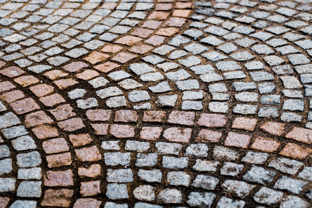 pavement, brighten the corner