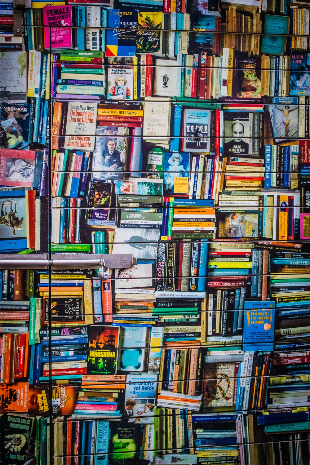 book wall décor