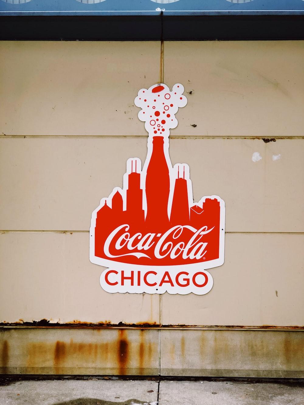 Coca-Cola wall decor