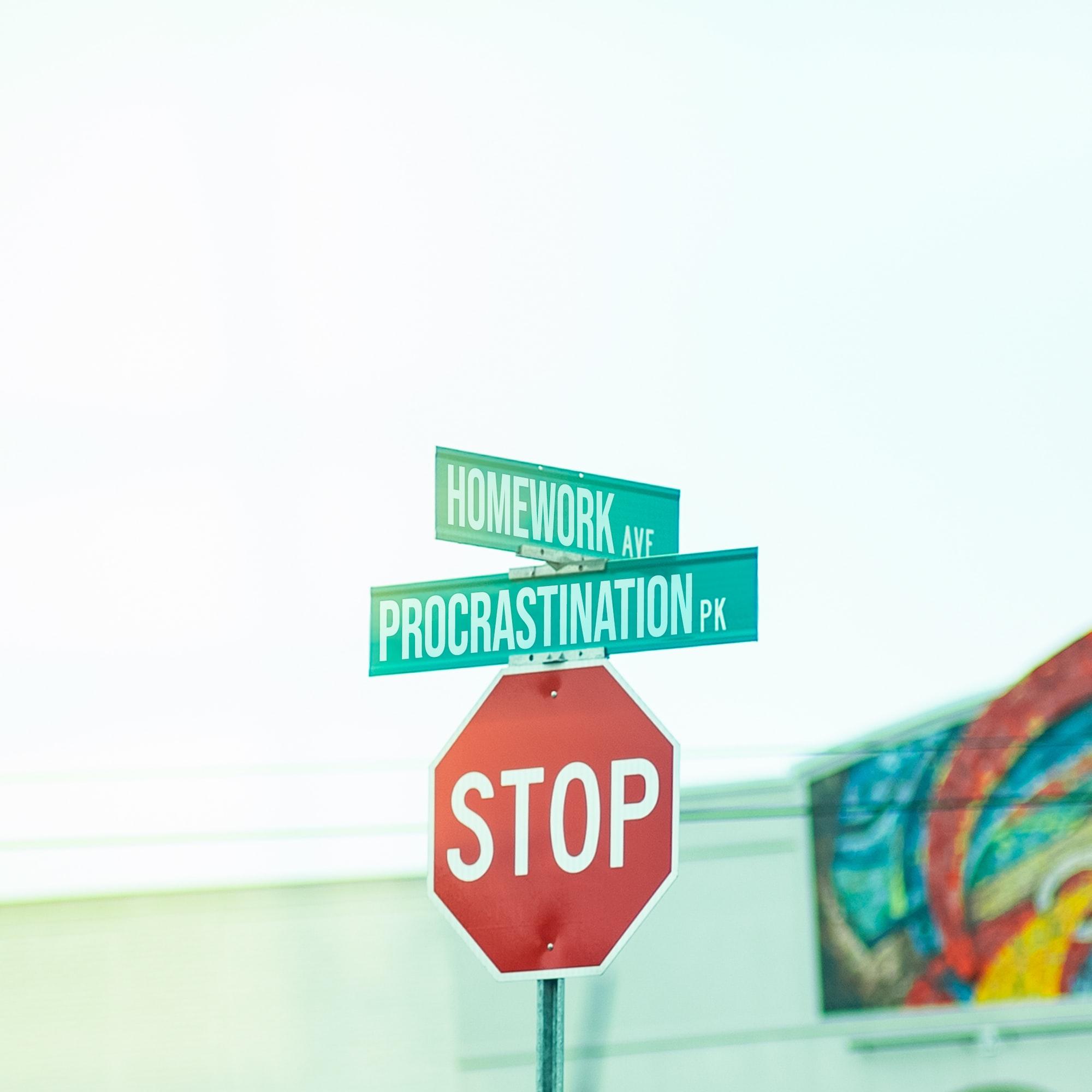 5 CLAVES para dejar de procrastinar