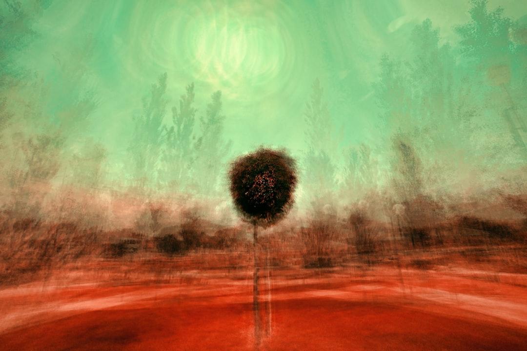Isolated tree-7