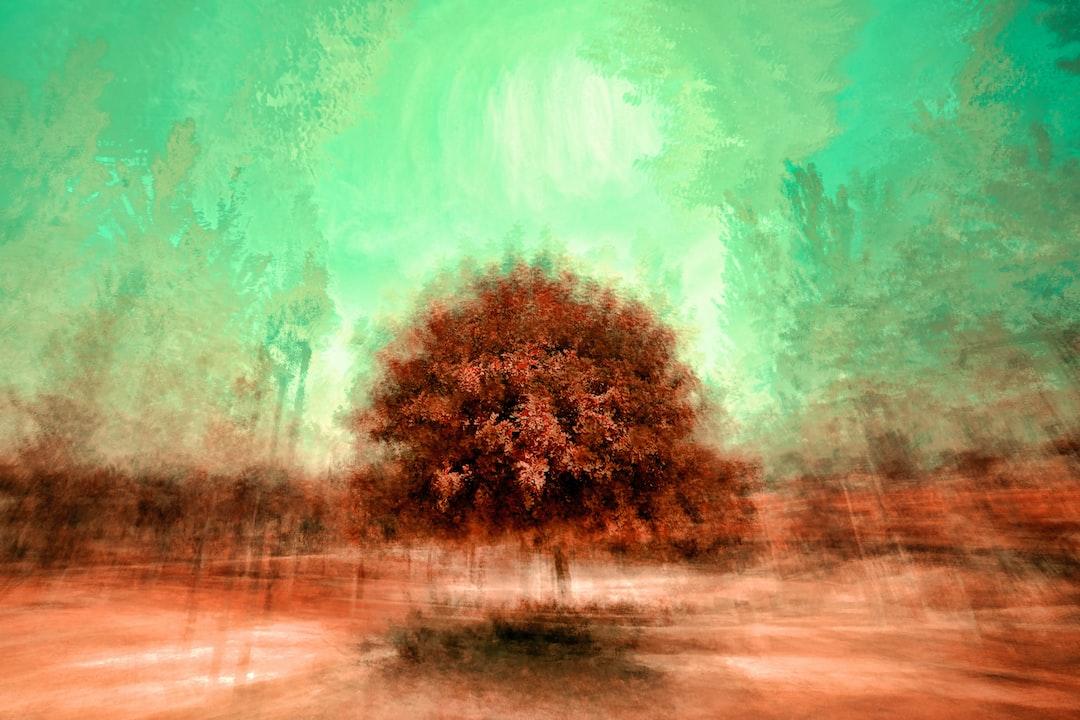 Isolated tree-6