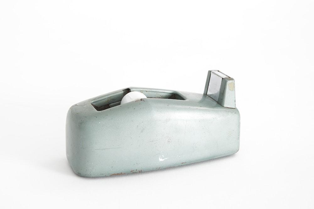 gray adhesive tape spool
