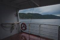 white boat interior