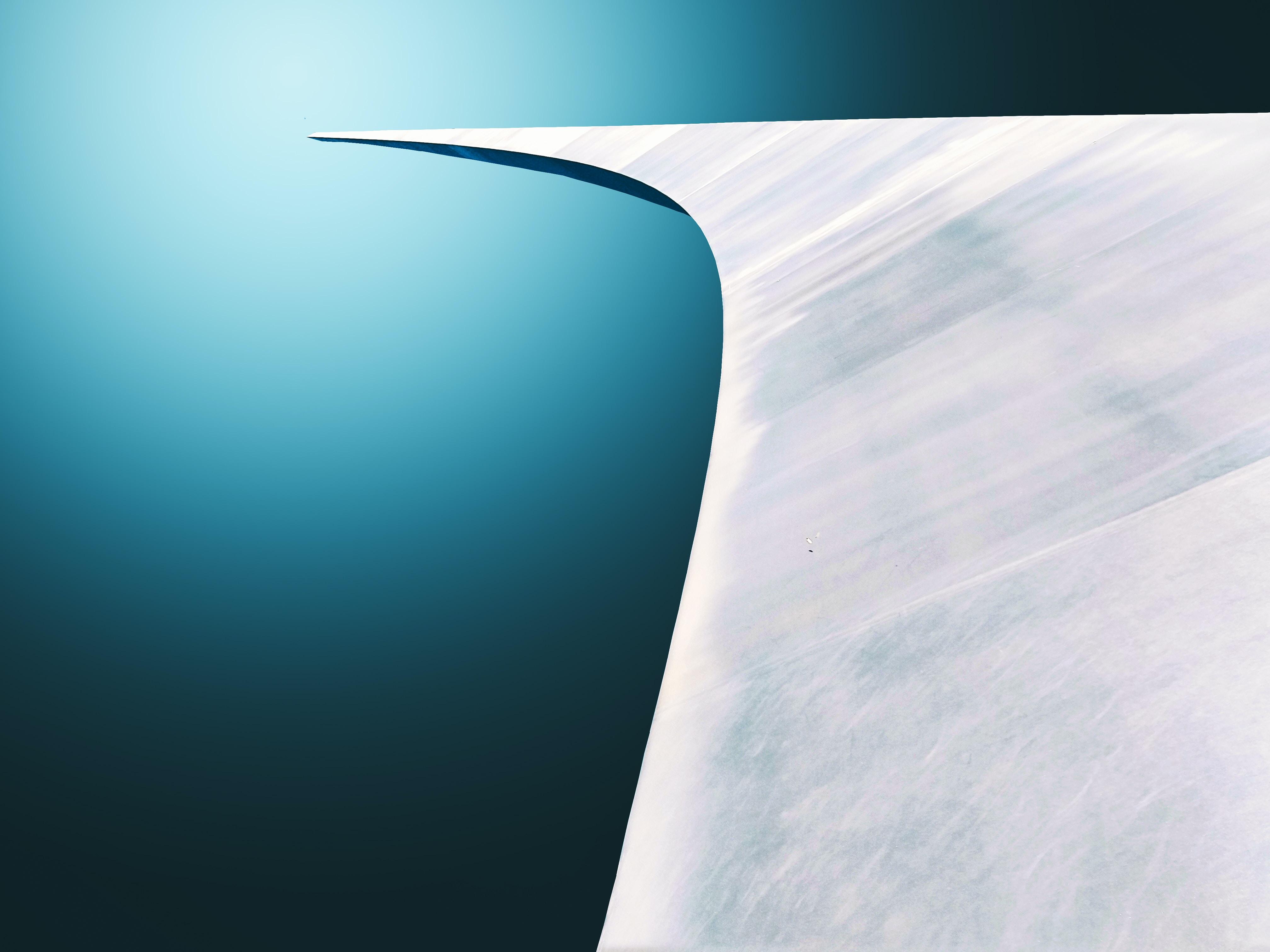 white surface illustration
