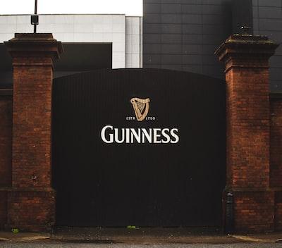 black guinness gate irish teams background
