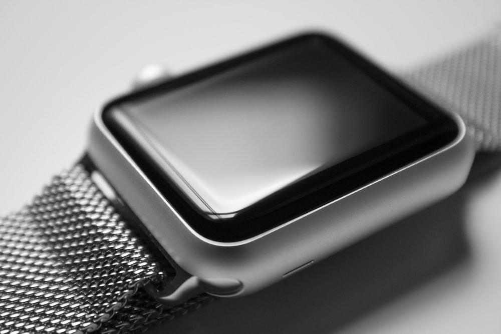 silver case Apple watch