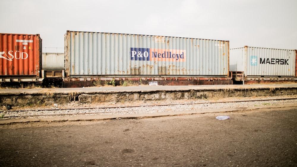 P&O Nedlloyd intermodal container