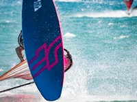 person windsurfing during daytime