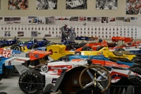 assorted-color rally cars