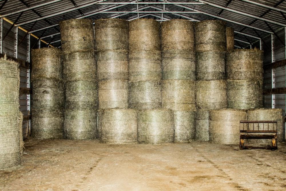 pile of hays