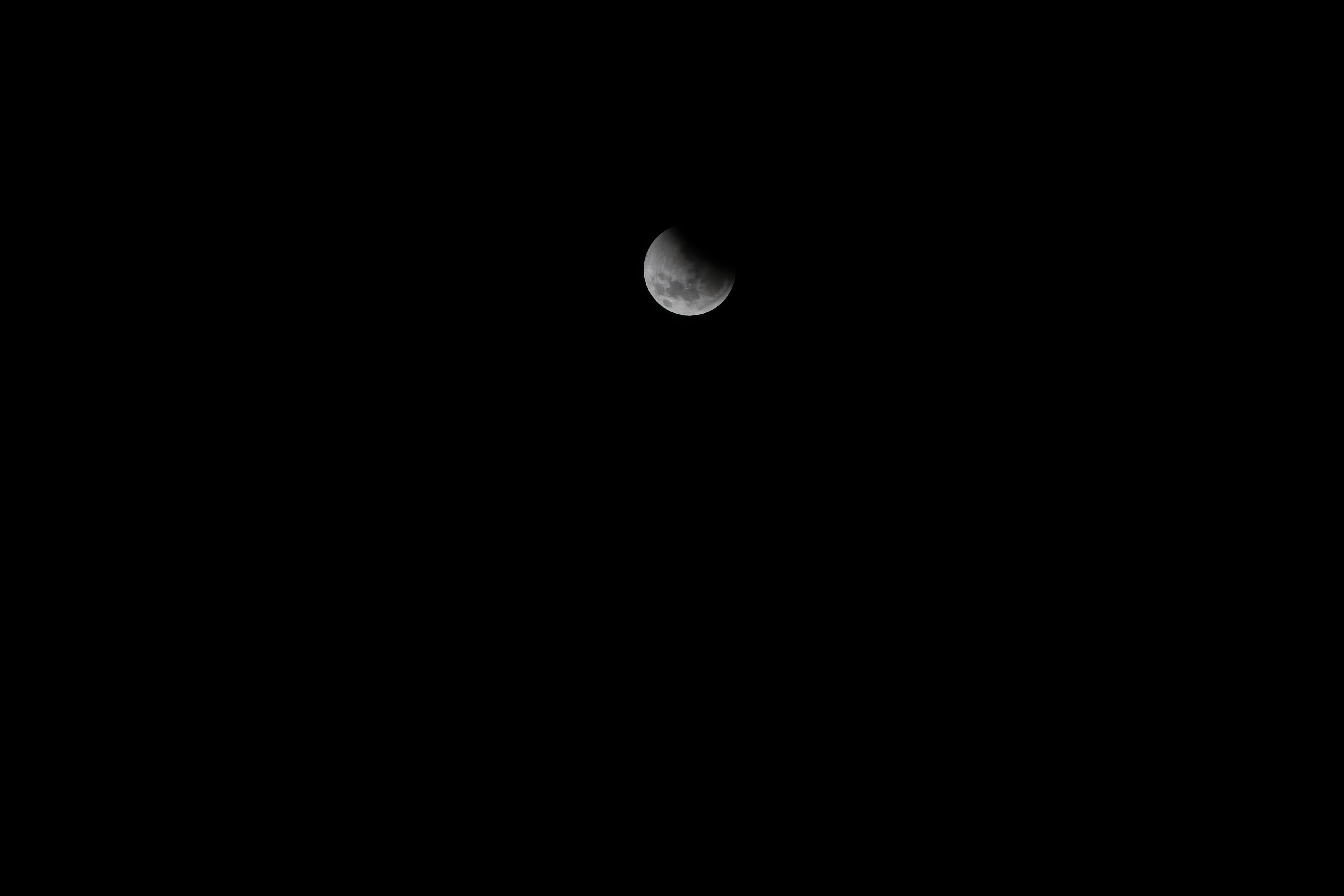Low Angle Photography Of Moon