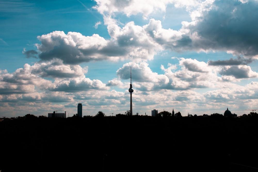 tower under white sky