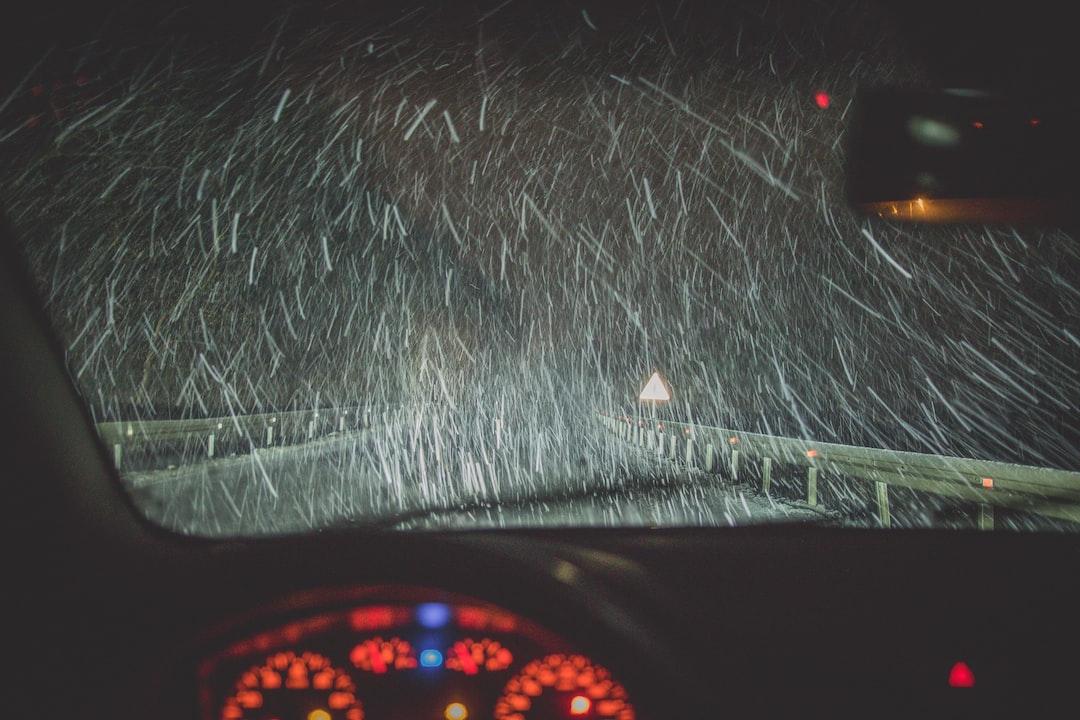 Snowy roadtrip