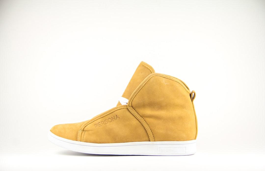 First PERSONA Footwear shoe.