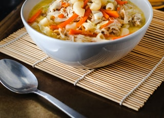elbow noodles soup