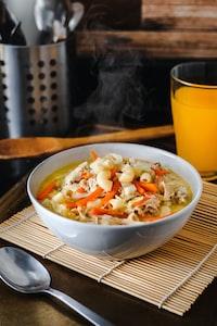 elbow noodles soup