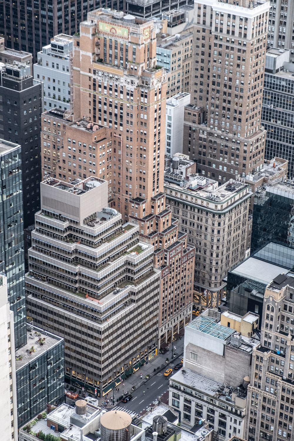 aerial photography of tall buildings at daytime