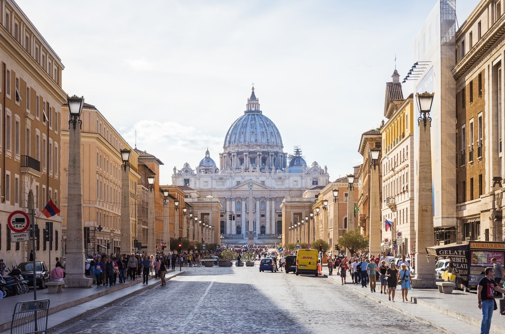 romantic cities in europe rome