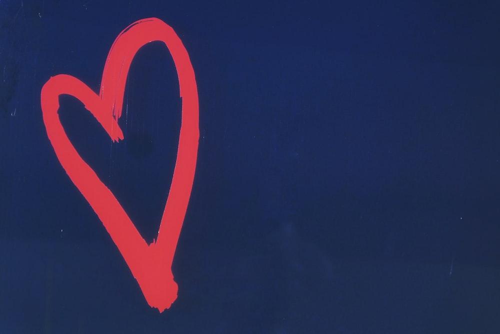 red heart illustration