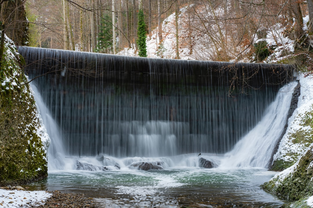 long exposure of a waterfall