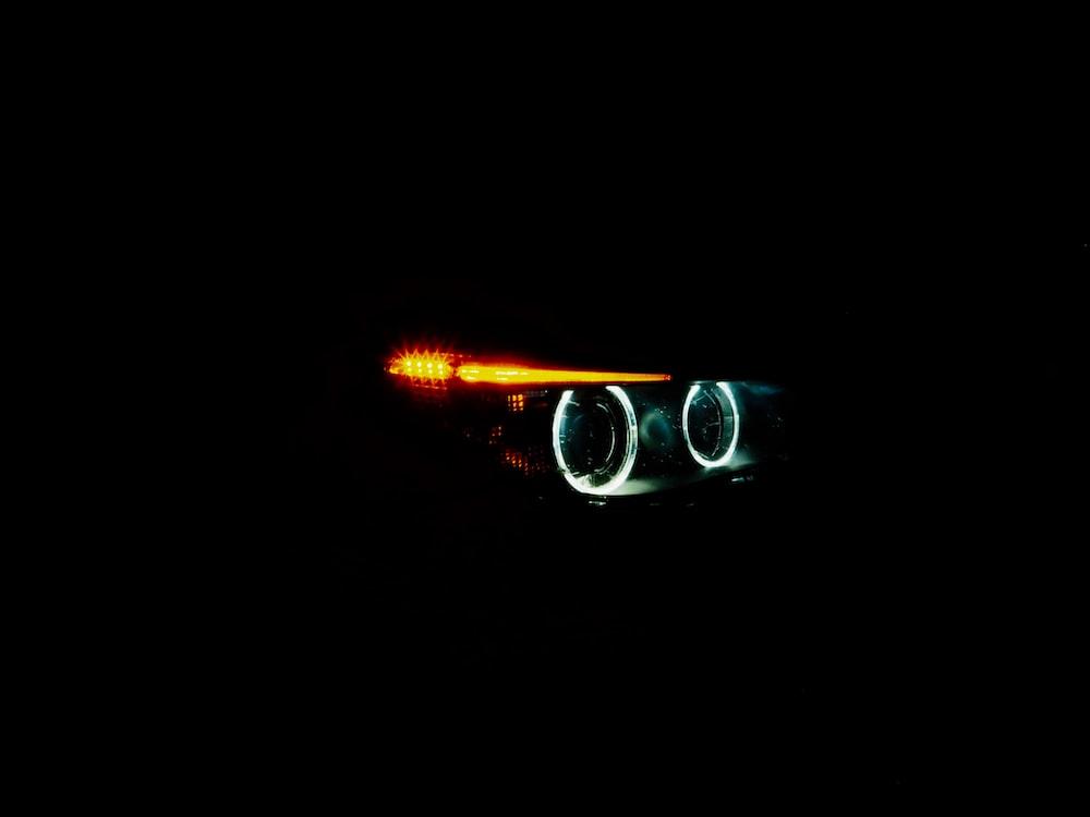vehicle headlight turned-on