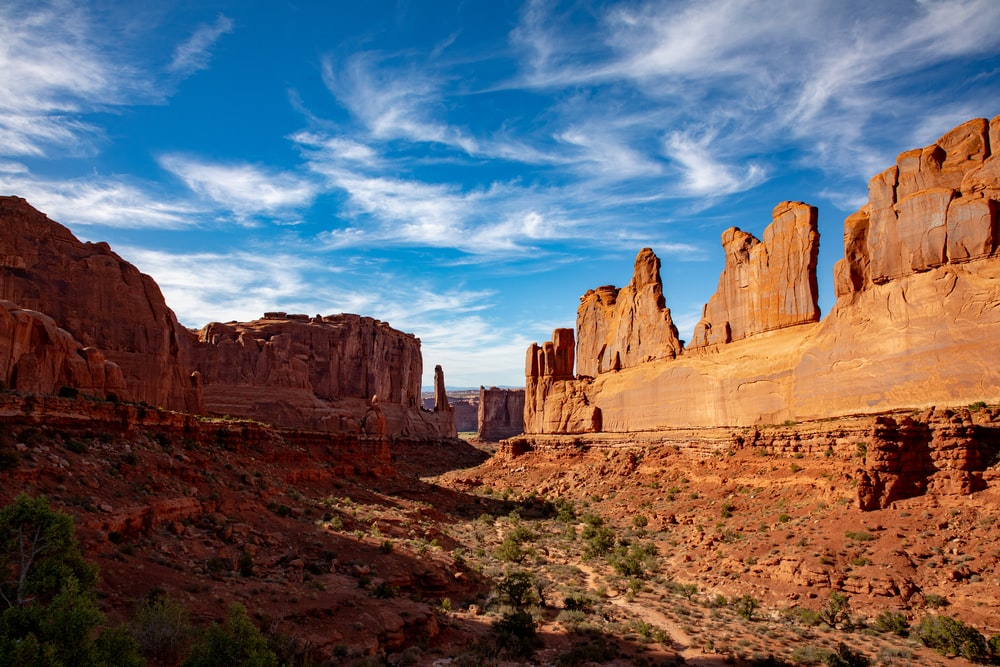 The Park Avenue in Arches National Park. Picture from Bob Walker