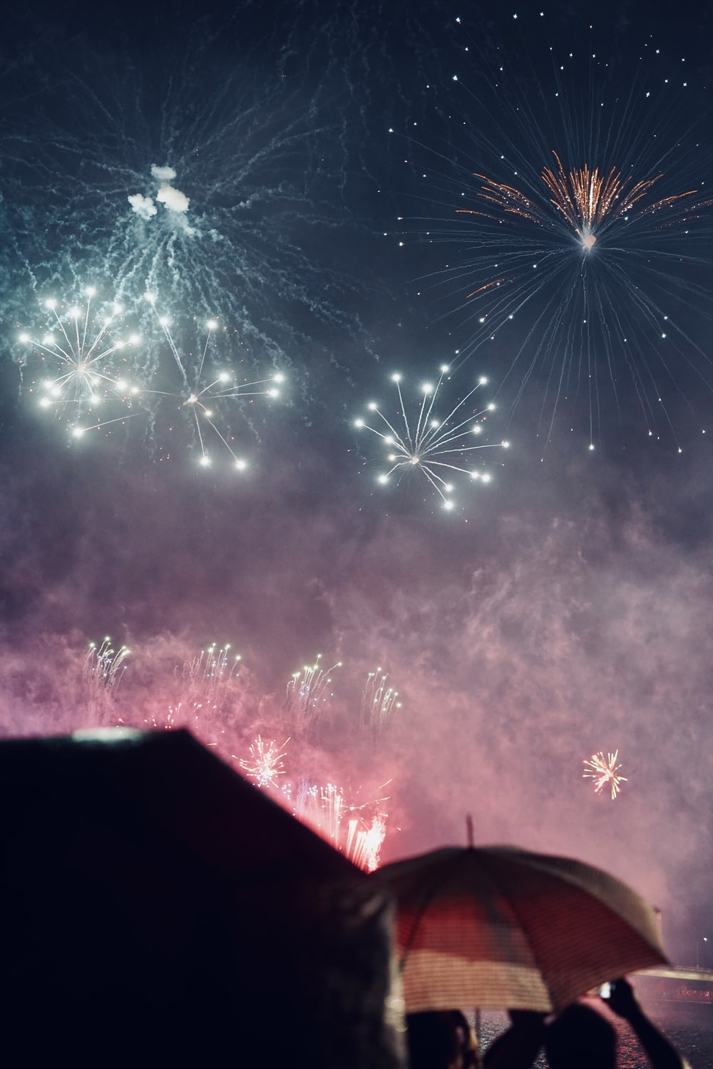 fireworks show at night