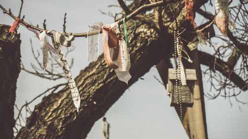 Poem: Ribbons In The Sky