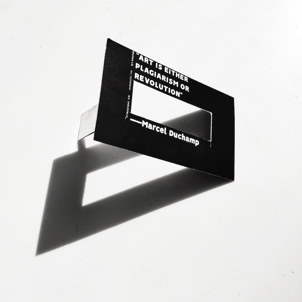 rectangular black panel