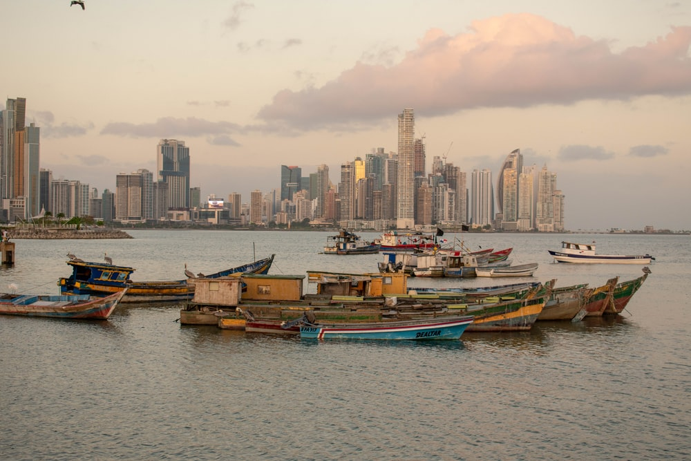 boats on the sea near buildings during daytime