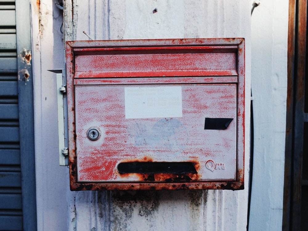 red electric cabinet