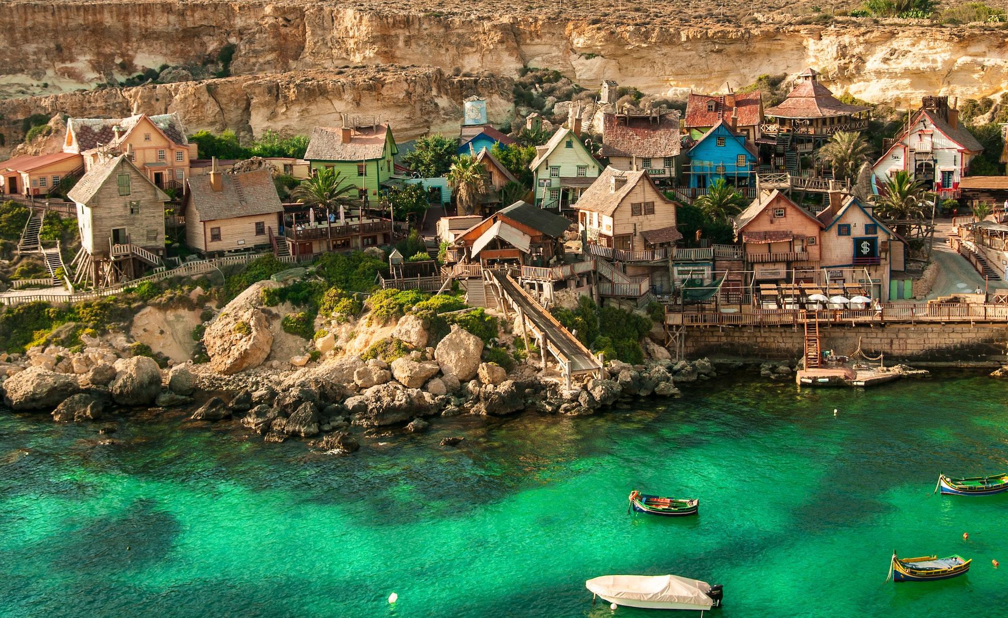 Popeye Village,Mellieha ,Malta