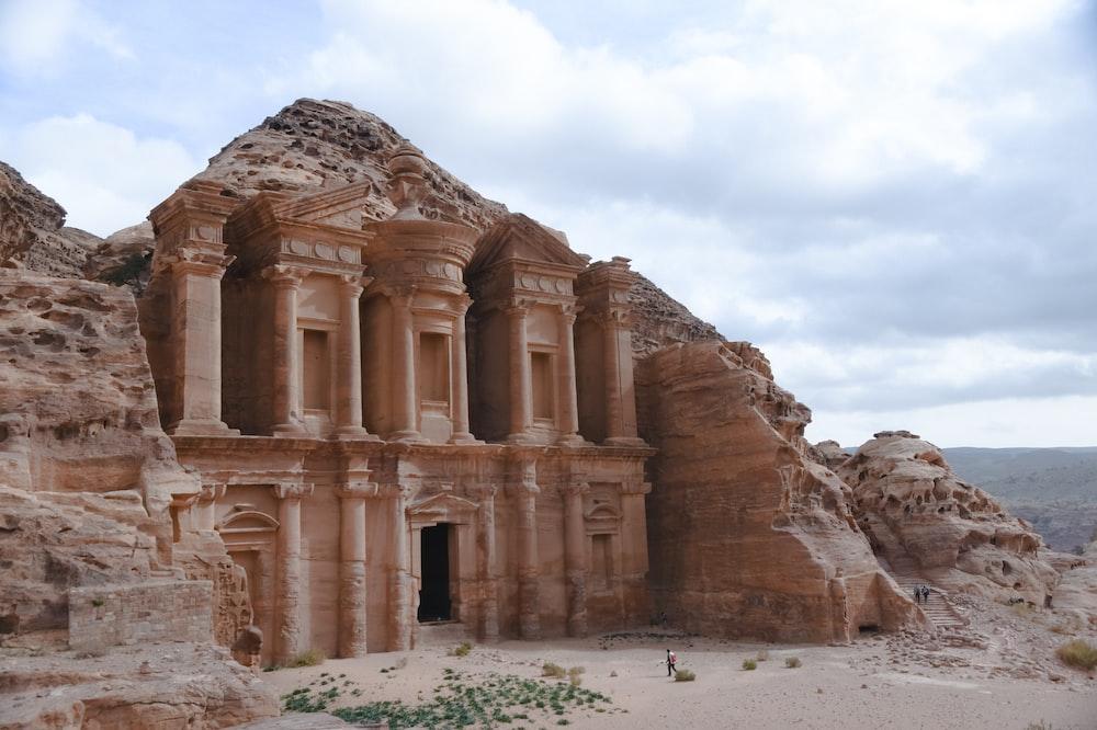 Petra Jordan during daytime