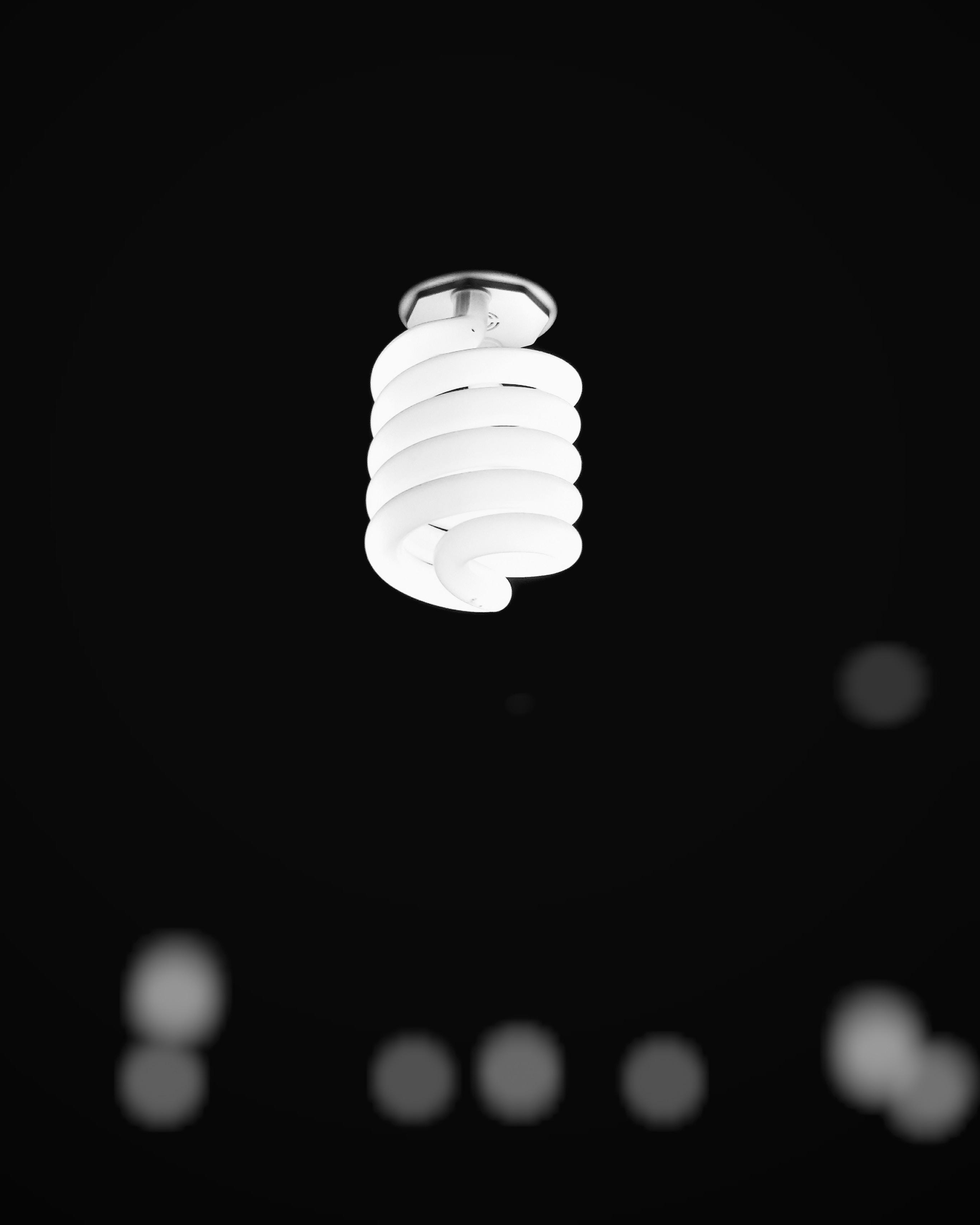 light bulb bokeh photo