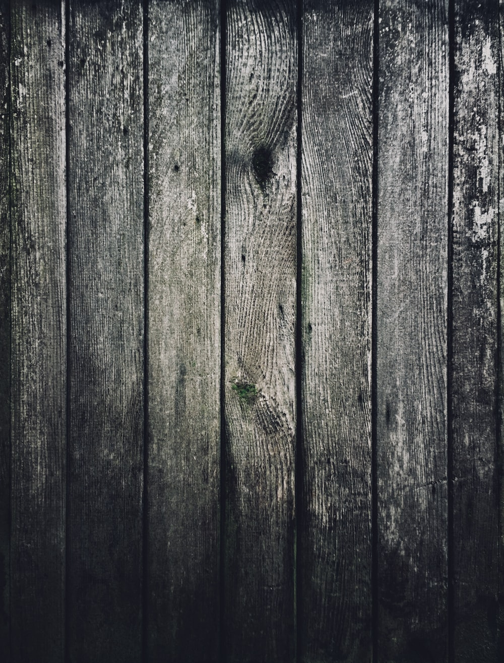 wooden planks greyscale photography