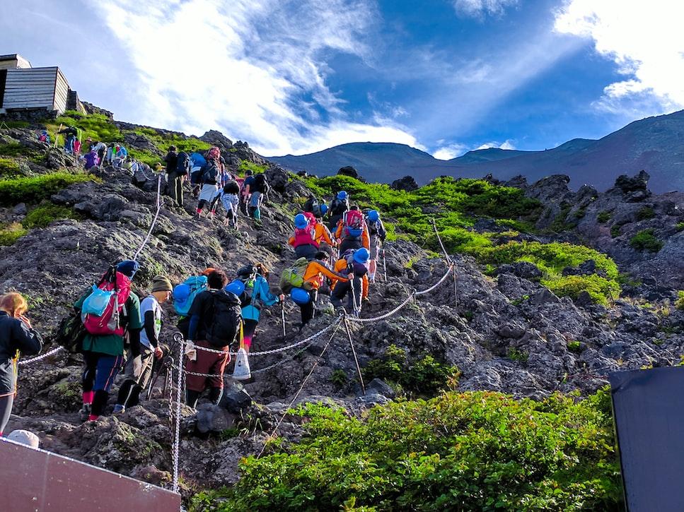 Climb Mount Fuji