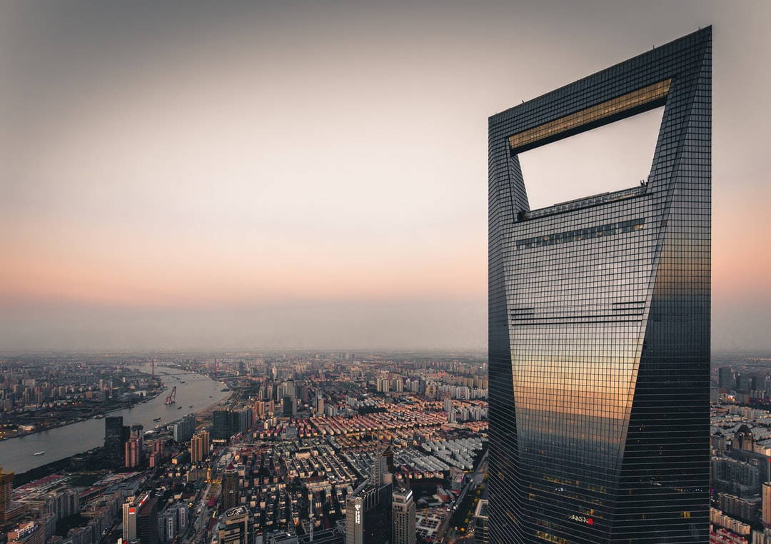 This shot of SWFC, the 2nd tallest building in Shanghai, was done from the rooftop of Jin Mao Tower, 3rd tallest building in the city and 23rd in the world.