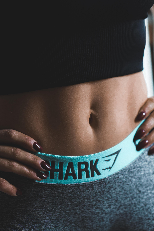 person wearing Shark bottoms