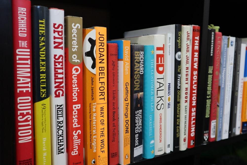 variety of books