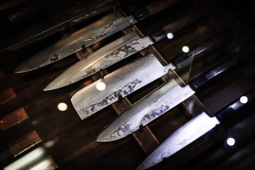 knife set box