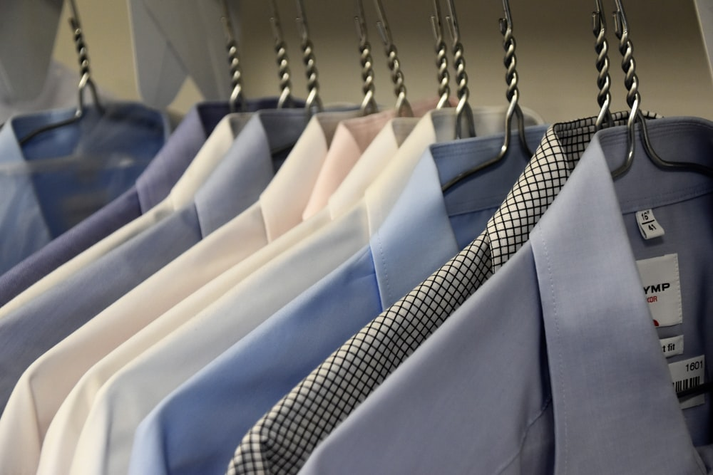 assorted-color formal suit jackets