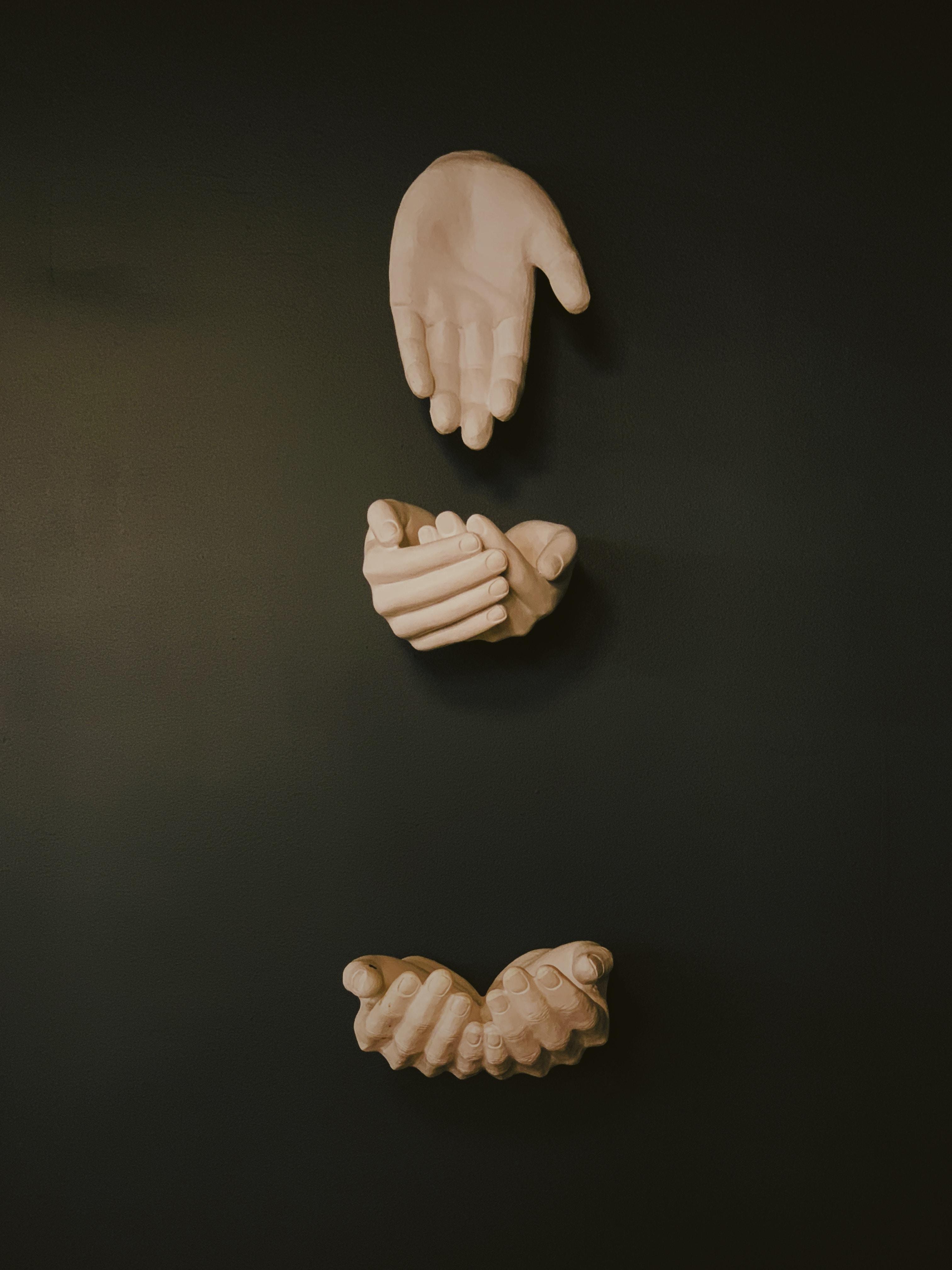 human hands decor