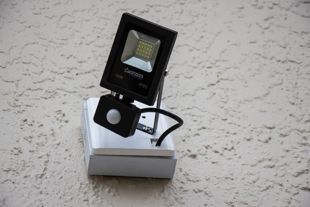 black LED camera