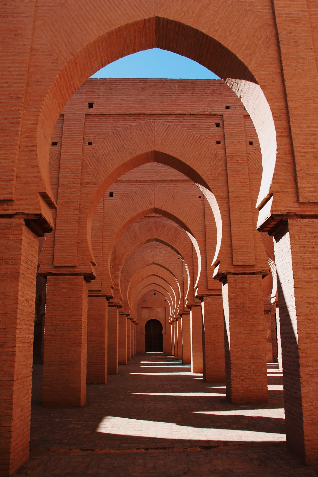This amazing old mosque will blow you away with its beauty, location and perfect symmetric arches!
