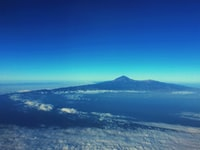 Tenerife from above the skies