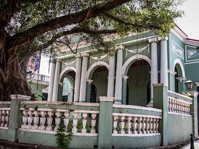 The Dom Pedro V Theatre in Macau, China.